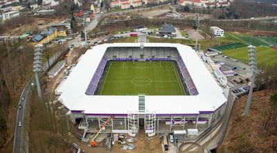 Stadioneröffnung Aue